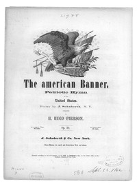 The American banner [sheet music]