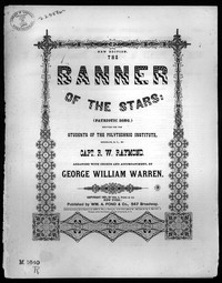 The Banner of the stars [sheet music]