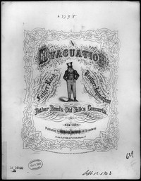 The Evacuation [sheet music]