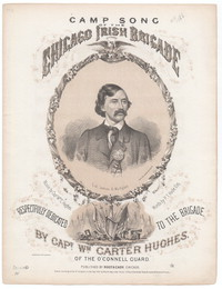 Camp song of the Irish Brigade [sheet music]