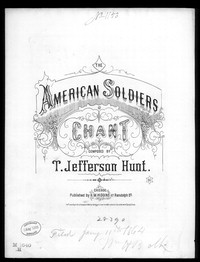 The American soldiers chant [sheet music]