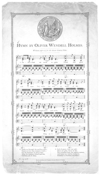 Hymn by Oliver Wendell Holmes [sheet music]
