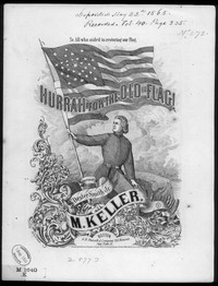 Hurrah for the old flag [sheet music]