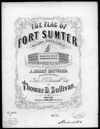 The Flag of Sumter [sheet music]