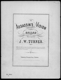 The Assassin's Vision [sheet music]