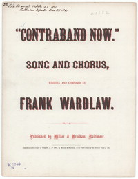 Contraband now [sheet music]