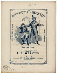 Get out of Mexico! [sheet music]