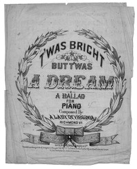 T'was bright but t'was a dream! [sheet music]