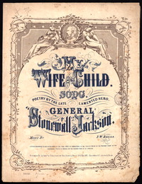 My wife and child [sheet music]