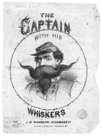 The Captain with his whiskers [sheet music]