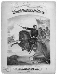 General Hooker's quickstep [sheet music]