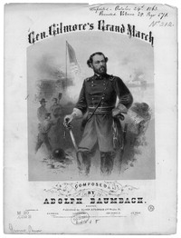Gen. Gilmore's grand march [sheet music]