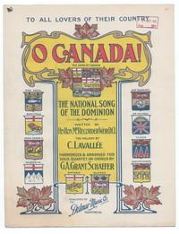 O Canada! [sheet music]