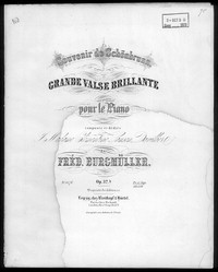 Grande valse brillante, op. 32 [sheet music]