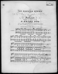 The haunted spring [sheet music]