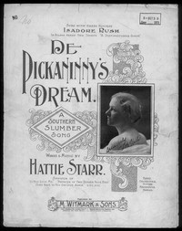 De pickaninny's dream [sheet music]