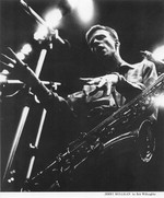 [Gerry Mulligan performing] [photograph]