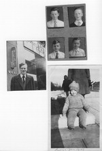 [Various photographs of young Gerry Mulligan and his brothers] [photograph]
