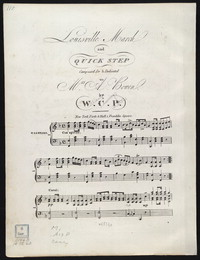 Louisville march and quick step [sheet music]