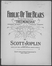 Frolic of the Bears [Sheet music]