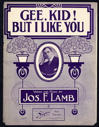 Gee, Kid! But I Like You [sheet music]