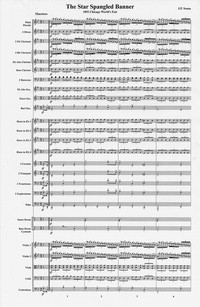 Star spangled banner [musical score]