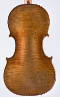 "Violin by Nicolo Amati, Cremona, 1654, ""Brookings"" [photograph]"