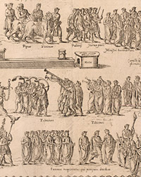 Detail from Circus Maximus by an unknown artist from a book by Onofrio Panvinio, 1580
