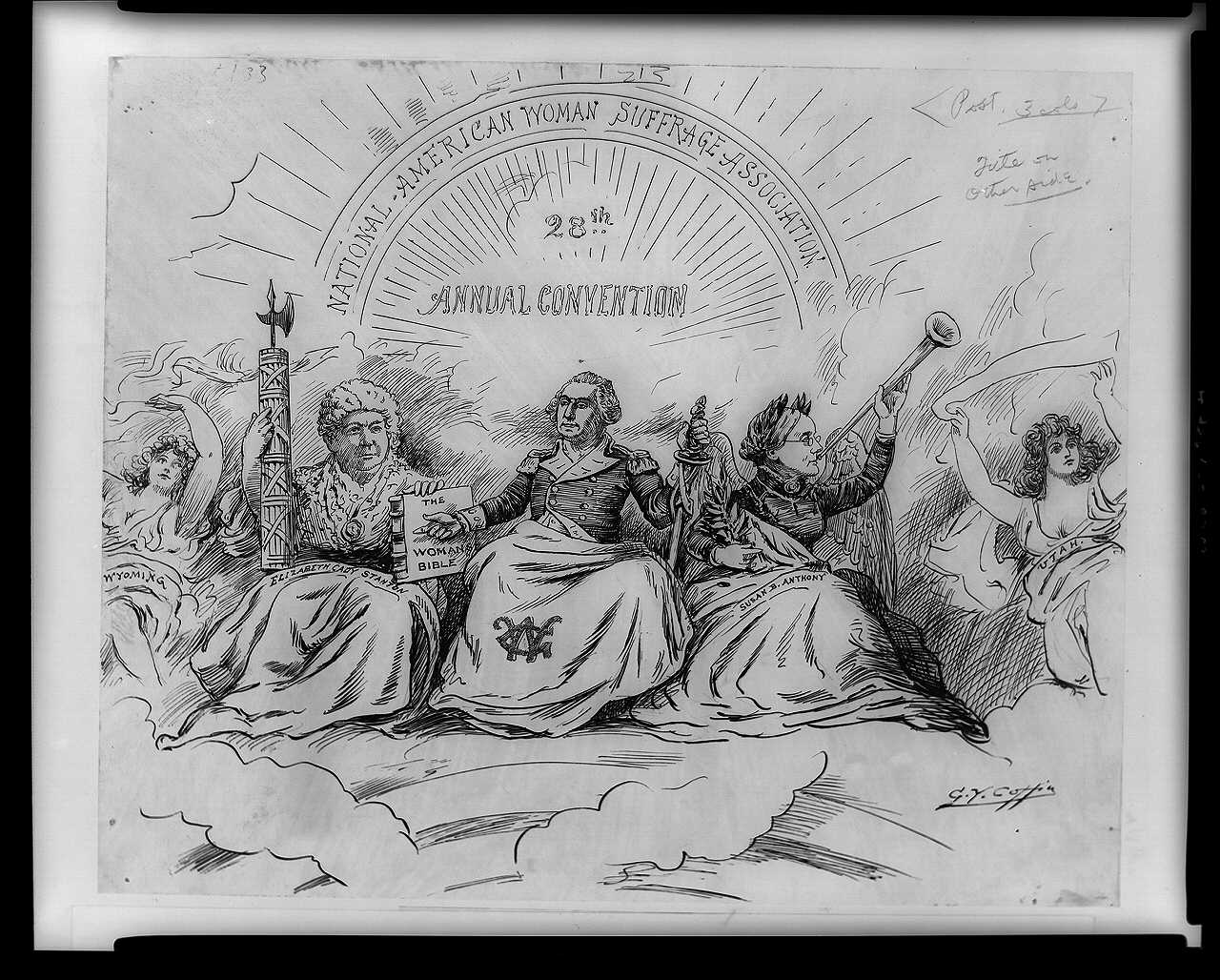 florence kelley essay proposing solutions essay topics sociology weblinks the progressive era 1895 the apotheosis of suffrage political cartoon on women s suffrage