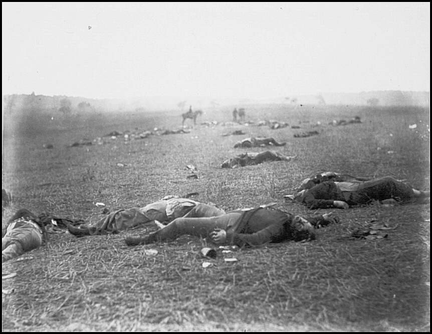 Deaths in the field of battle