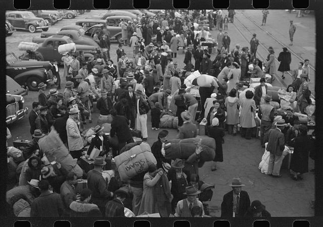 Evacuation of the Japanese-Americans from West Coast
