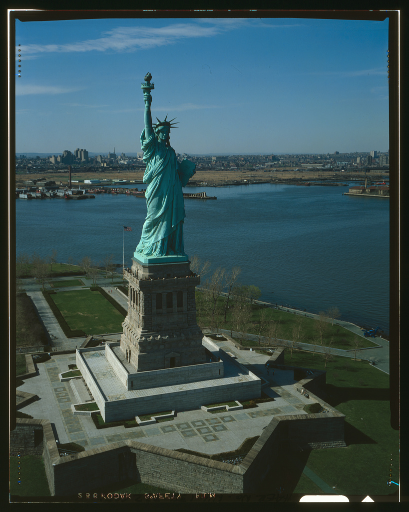 Statue of Liberty, Liberty Island, Manhattan, New York, New York, NY