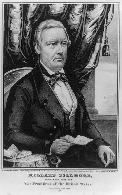 Millard Fillmore, Whig candidate for Vice President - Library of Congress