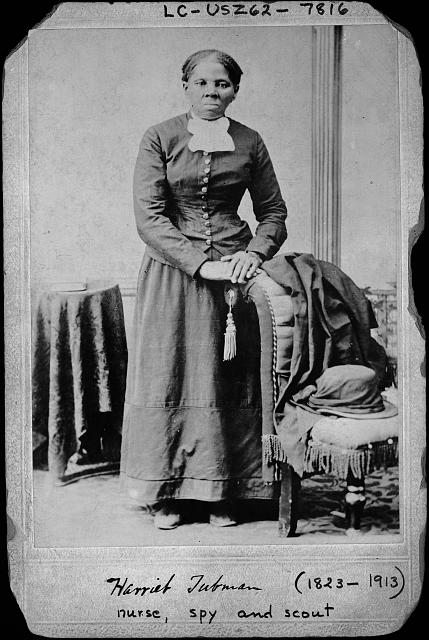 Harriett Tubman, full length portrait