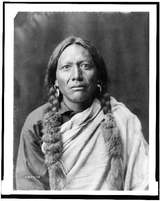 Photo of Tull Chee Hah by Edward S. Curtis, Library of Congress, Prints and Photographs Division, LC-USZ62-106988