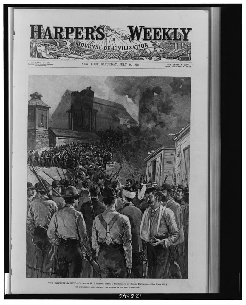 economy in progressive era politics the homestead workers fought