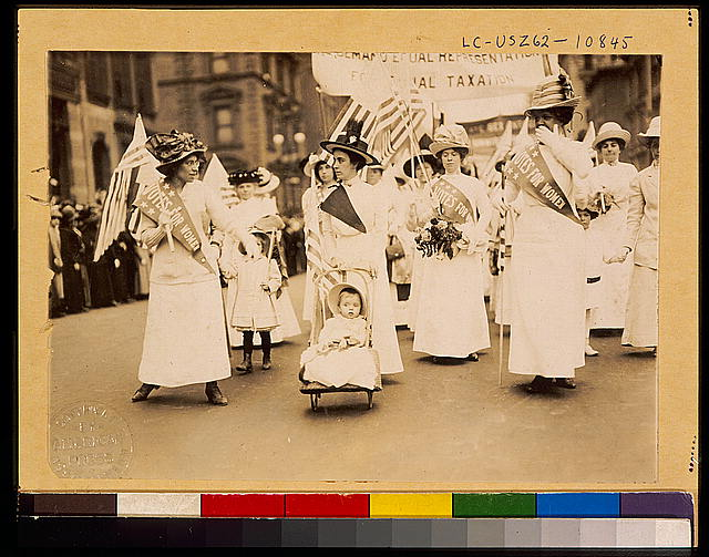 Suffrage Parade, New York City