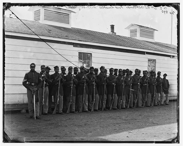 District of Columbia. Company E, 4th U.S. Colored Infantry