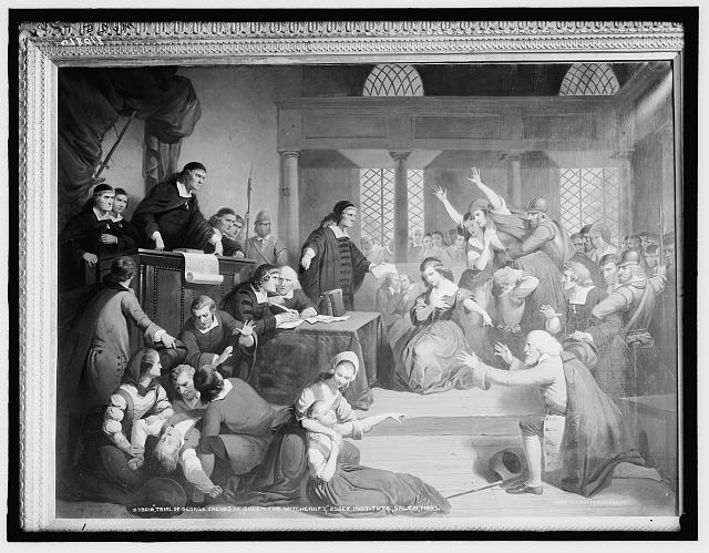 a look at the beginning of the salem witch hysteria of 1692