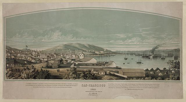 Title: San Francisco, 1849 (Library of Congress)
