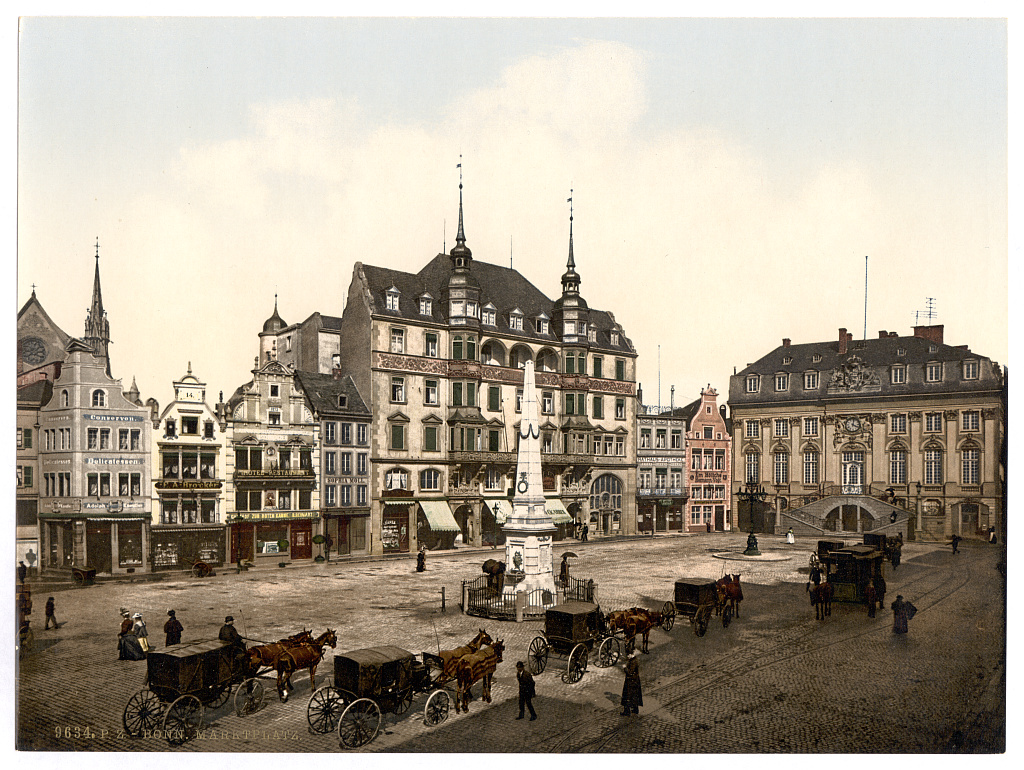 Germany at the end of the 19th century before wwii for Koln ww2
