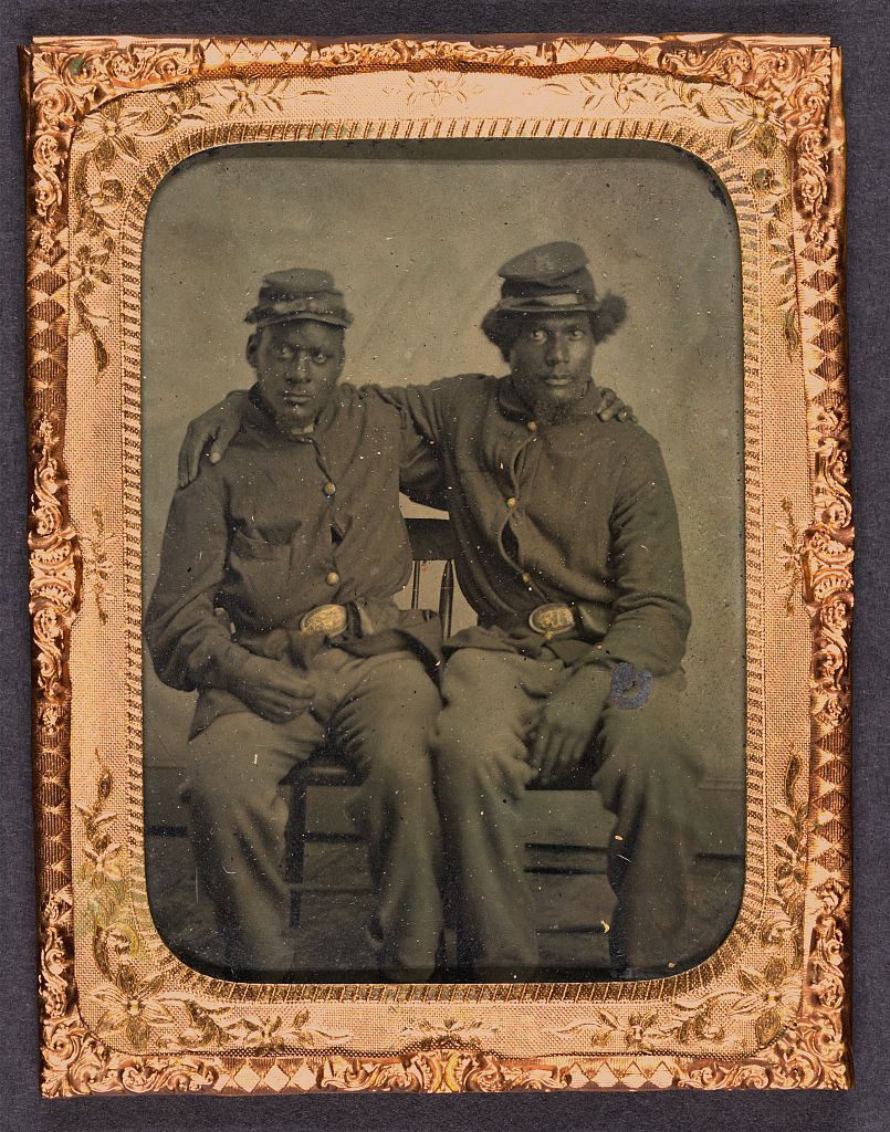Two Brothers in Arms. Library of Congress