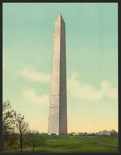 Washington Monument, c1903 (Library of Congress)