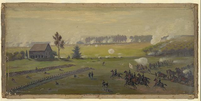 Title: The Battle of Gettysburg (Library of Congress)