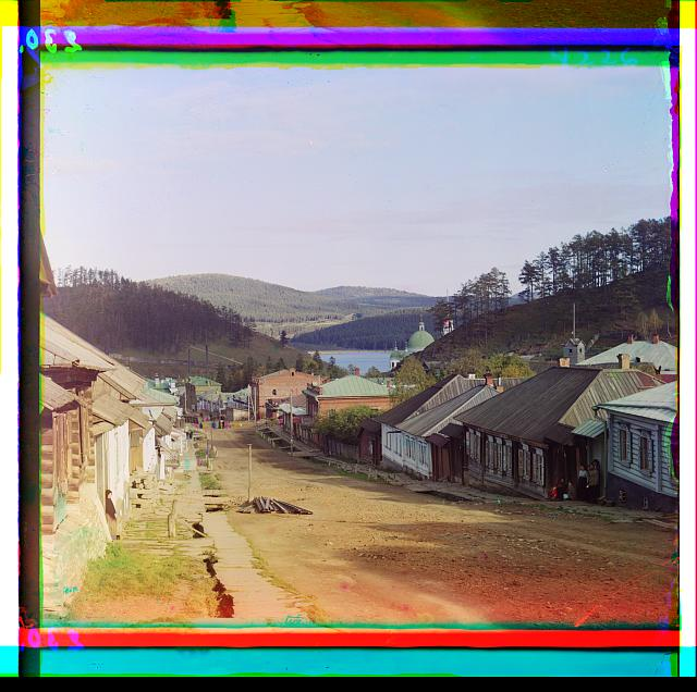 Rare color photographs of the early 20th century.