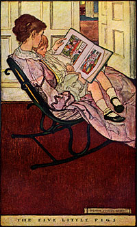 """Bedtime (1906)"" by Dudley Buck"