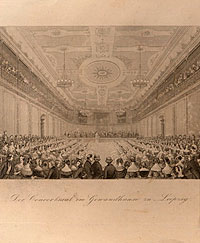 Felix Mendelssohn and the Leipzig Gewandhaus
