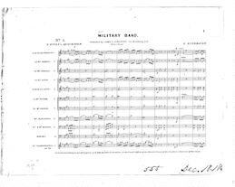 Military Band Music | Library of Congress
