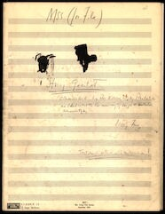 String Quartet [holograph sketch score, pencil]