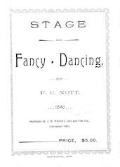 Stage and fancy dancing
